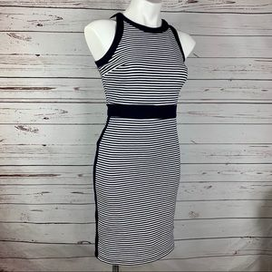 Ann Taylor Dress Sleeveless Bodycon Color Block